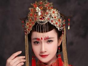 中式新娘造型图片欣赏 2017中式新娘盘发盘点-新娘盘发图片欣赏 韩式