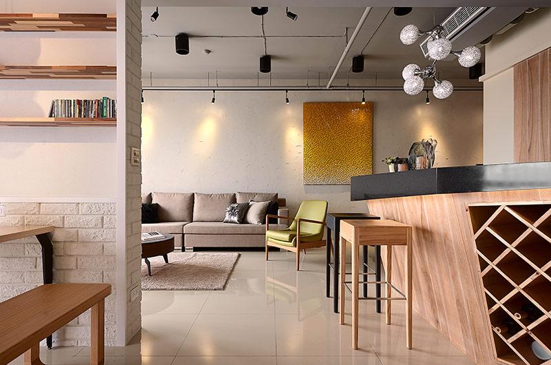 132平北欧风格三居地板瓷砖图片