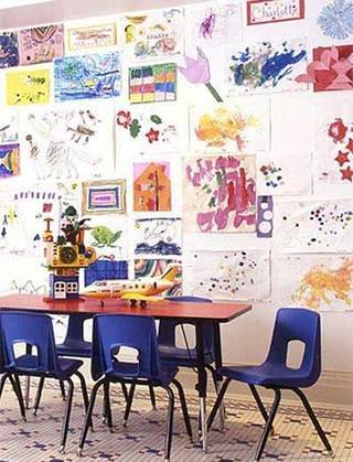 儿童娱乐室学习室图片