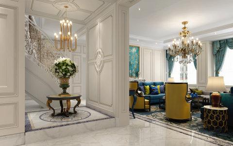 20万以上140平米以上欧式复式装修效果图,别墅洋房区图片