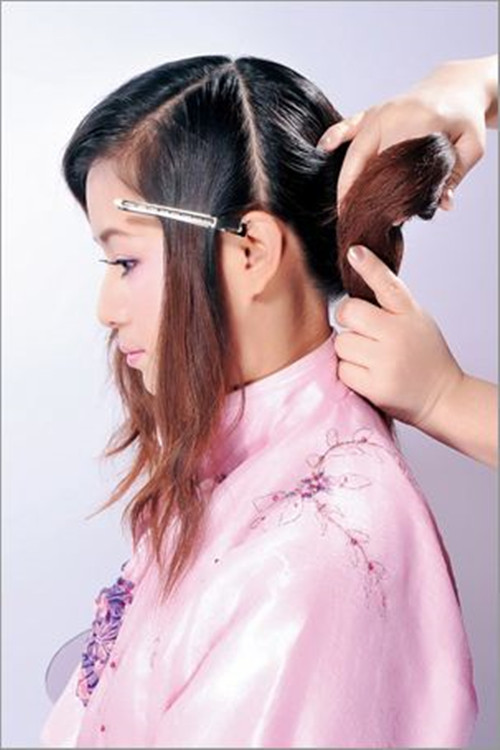 古装新娘发型图片大全2017 短发怎么弄古装发型图片