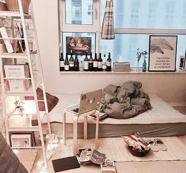 出租屋卧室设计平面图