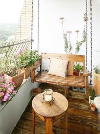 阳台改造设计实景图