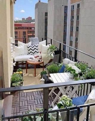 室外阳台改造设计平面图