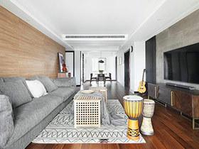 161平现代北欧风格三居室装修 温馨乐趣坊