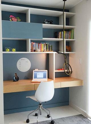 小户型书房装修平面图