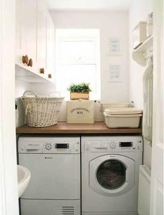 小户型洗衣房布置摆放图