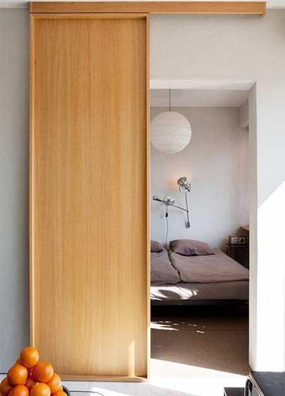室内推拉门设计平面图
