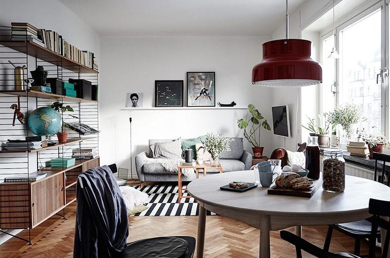 52平北欧风格一居餐厅设计图-装修效果图案例 2017年装修效果图 齐家