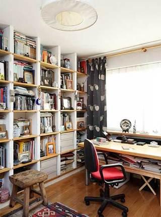 书架背景墙装修设计图