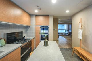 120平日式风格三居整体厨房装修