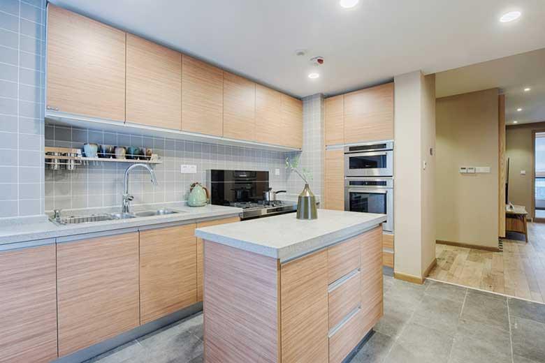 两居室装修中岛台图片