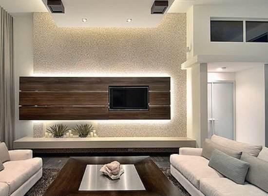 个性电视墙装修效果图大全  创意十足的家居设计方案
