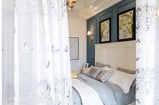 130平地中海风格三居卧室装饰图
