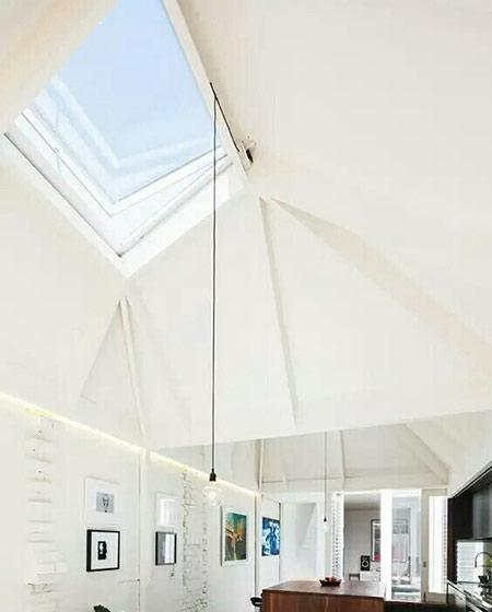 客厅吊顶天窗效果图设计
