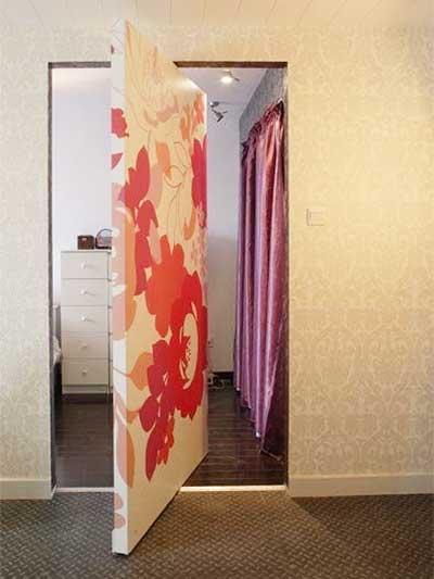室内隐形门装修装饰效果图
