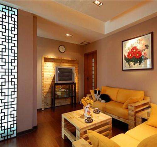 6平米小客厅装修效果图 简洁时尚小客厅设计欣赏
