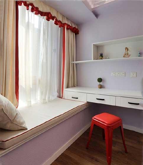 卧室飘窗布置效果图
