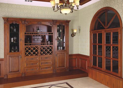 酒柜玄关设计效果图 酒柜玄关彰显主人个性