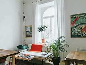 20平出租房小户型单身公寓效果图 温馨复古空间