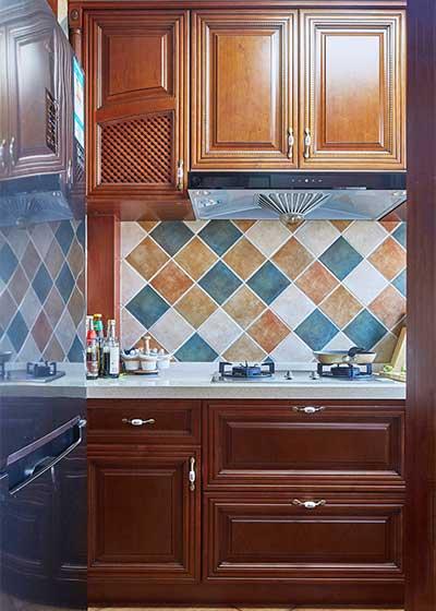 两居室厨房设计平面图