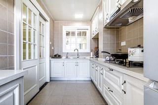 146平美式风格二居整体厨房装修