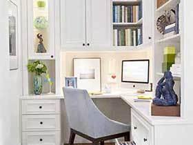 爱生活爱知识  12个家庭工作书房设计图