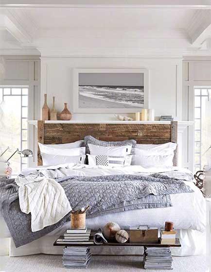 简约风格卧室床尾凳图片