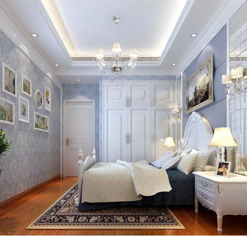 卧室装修效果图欧式 4个优雅浪漫的卧室设计欣赏