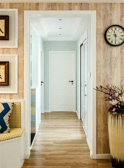 美式三居室走廊设计图