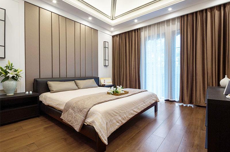 400平新中式风格别墅主卧室装修