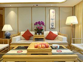 220平新中式风格四室两厅装修 返璞归真