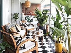 10个家庭阳台装修效果图 提升家居幸福感