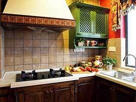 风从海上来  10个地中海风格厨房装修图