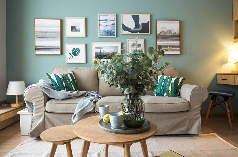 52平一室一厅装修客厅设计图