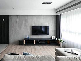 现代简约风格三房二厅设计 筛落满地光感