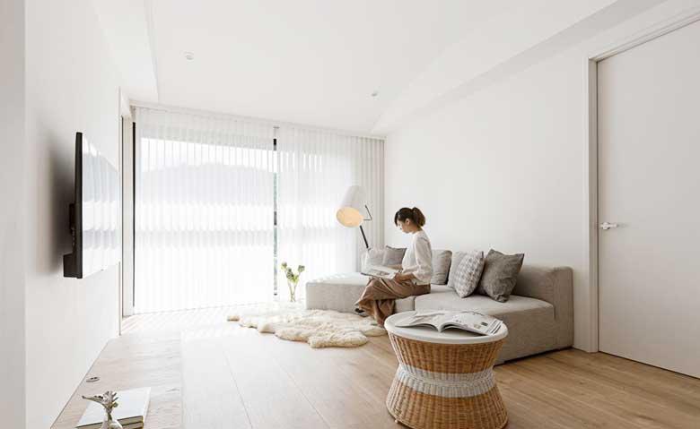 简约混搭风格单身公寓图片