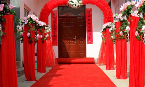 农村结婚典礼图片2017 农村婚礼现场怎么布置