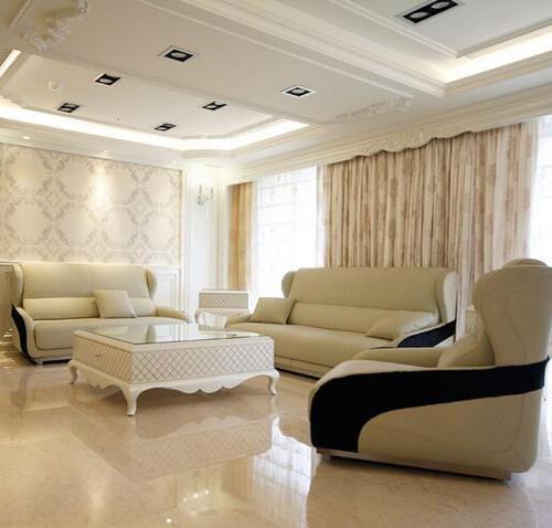 客厅铺瓷砖效果图 客厅铺什么瓷砖比较耐看美观