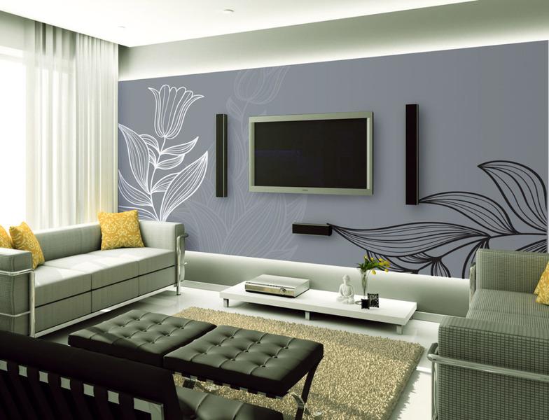 电视背景墙装修效果图大全 现代简约风格电视背景墙设计