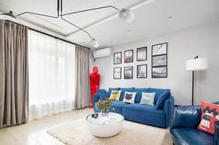 100㎡混搭风两居室装饰图片