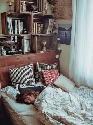 单身卧室设计欣赏图