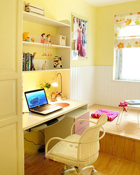 小户型儿童书房设计