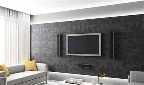 现代新风电视墙效果图四款超炫现代客厅电视墙装修案例讲文明树客厅快板串词图片