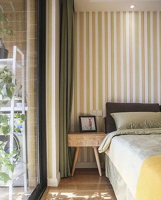 北欧风格婚房装修卧室壁纸设计图
