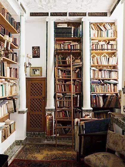 复古风书房图片大全
