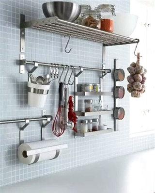 小户型厨房简易置物架