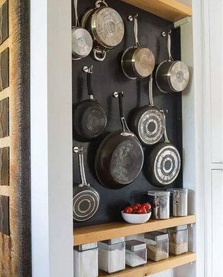 厨房装修墙面收纳效果图片