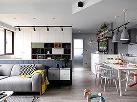 北欧风格婚房装修设计图 清新舒适有氧家