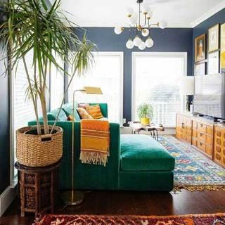室内绿植布置设计实景图